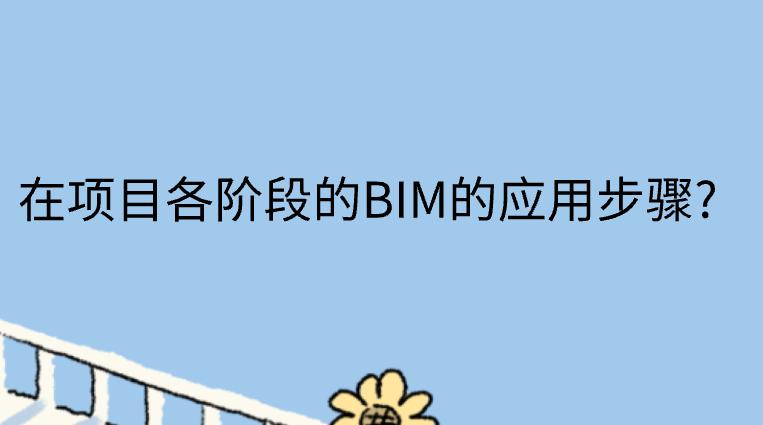 在项目各阶段的BIM的应用步骤?
