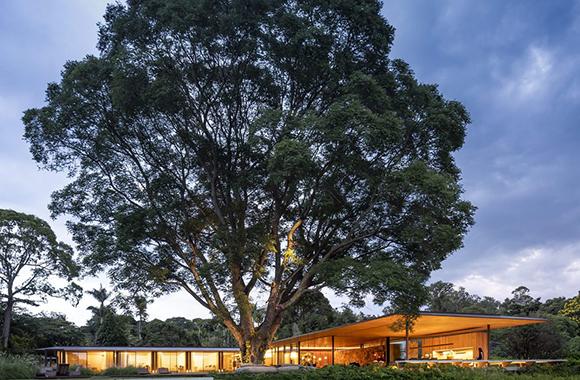 巴西RN住宅,让建筑与与自然融合在一起